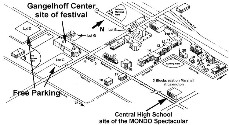 Map of Concordia